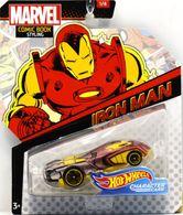 Iron Man | Model Cars | Hot Wheels Marvel Comics Iron Man