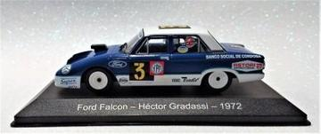 FORD FALCON 1:43 HECTOR GRADASSI 1972#3 TURISMO CARRETERA-TC