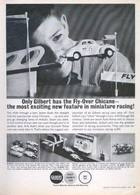 Only Gilbert Has The Fly-Over Chicane ― The Most Exciting New Feature In Miniature Racing! | Print Ads