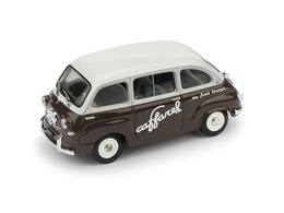 Fiat 600 Multipla 1956 Caffarel | Model Cars