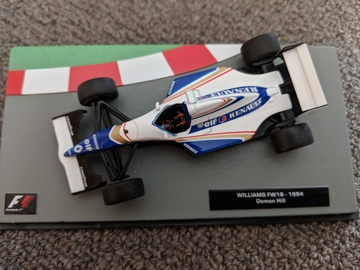 Williams renault fw16   damon hill   1994 model racing cars 52335c13 089b 4b44 9e2b 0ae2d4ae32ac large