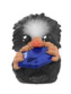 Baby niffler %2528black%2529 %2528sapphire%2529 vinyl art toys e01a4858 e2d7 4c9d 8b6f 3fb189a9663d medium