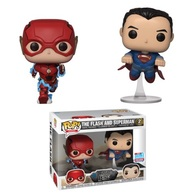The Flash and Superman (Racing) (2-Pack) [Fall Convention] | Vinyl Art Toys