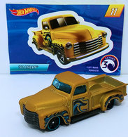 '52 Chevy | Model Trucks | HW 2018 - Mystery Models Series 3 11/12 - '52 Chevy (Pick Up) - Satin Gold - Walmart Exclusive