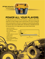 Power All Your Players.   Print Ads