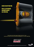 Starts In Any Position.   Print Ads