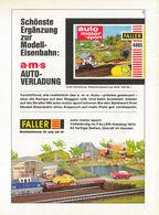 Schönste Ergänzung Zur Modell-Eisenbahn: AMS Auto-Verladung | Print Ads