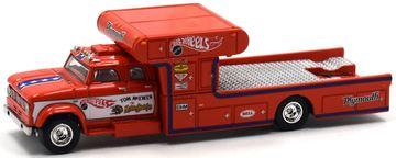 '67 Dodge D700 Hauler | Model Trucks | Hot Wheels '67 Dodge D700 Hauler Mongoose Red