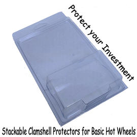 Stackable Clamshell Protectors | Protective Shells & Blisters | Stackable Clamshell Protectors
