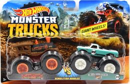 Loco Punk VS Pure Muscle | Model Vehicle Sets | Hot Wheels Monster Trucks Loco Punk vs Pure Muscle