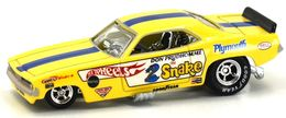 Plymouth Barracuda Funny Car | Model Cars | Hot Wheels Team Transport Don 'The Snake' Prudhomme Plymouth Barracuda