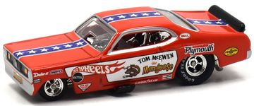 70 Plymouth Duster F/C | Model Racing Cars | Hot Wheels Tom 'Mongoose' McEwen 70 Plymouth Duster