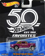 '55 Chevy Bel Air Gasser | Model Racing Cars | Hot Wheels 50th Anniversary Favorites '55 Chevy Bel Air Gasser