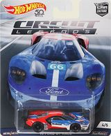 '16 Ford GT LM | Model Cars | Hot Wheels Car Culture Circuit Legends Ford GT Race