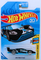 2016 Ford GT Race   Model Racing Cars   HW 2018 - Exclusive Color - Legends of Speed 4/10 - 2016 Ford GT Race - Black - USA 50th Card