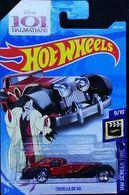 Cruella De Vil | Model Cars | Hot Wheels 50th Anniversay 101 Dalmations HW Screen Time Cruella De Vil