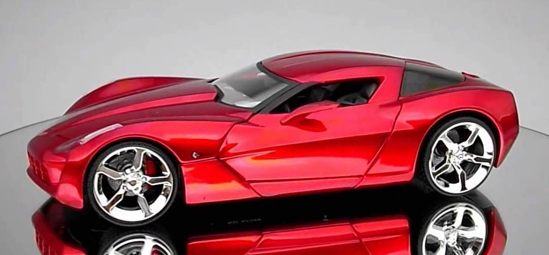 2009 Chevrolet Corvette Stingray Concept Model Cars Hobbydb
