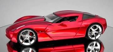 2009 Chevrolet Corvette Stingray Concept | Model Cars