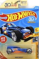 HW50 Concept | Model Cars | Hot Wheels 50th Anniversary HW 50th Race Team Blue HW50 Concept