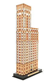 Old New York Time Building | Model Buildings and Structures