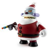"Robot Santa Claus ""Naughty""  | Vinyl Art Toys"