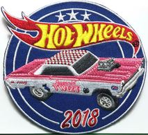 32nd Annual Hot Wheels Collectors Convention Commemorative Patch | Uniform Patches | Hot Wheels 2018 32nd Anuual Collectors Convention Mercury Cyclone Patch