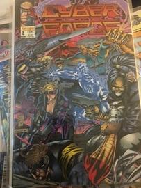 Cyber Force   Comics & Graphic Novels