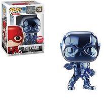 The Flash (Justice League) (Blue Chrome) | Vinyl Art Toys