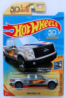 2009 Ford F-150 | Model Trucks | HW 2018 - ZAMAC # 018 - HW 50th Race Team 4/10 - 2009 Ford F-150 - ZAMAC - USA 50th Card - Walmart Exclusive