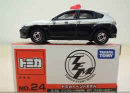 Subaru Impreza WRX STI Patrol Car | Model Cars