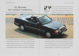 De Mercedes Met Variabele Hoofdruimte. | Print Ads