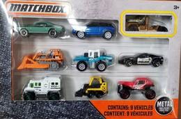 2018 Matchbox 9-Pack - Torque Titan Exclusive | Model Vehicle Sets