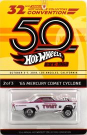 '65 Mercury Comet Cyclone | Model Cars | Hot Wheels 32nd Annual Hot Wheels Collectors Convention '65 Mercury Comet Cyclone