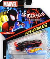 Miles Morales | Model Cars | Hot Wheels Marvel Comics Into The Spider-Verse Miles Morales
