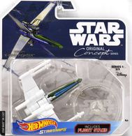 X-Wing Fighter (Concept) | Model Spacecraft | Hot Wheels Star Wars Original Concept Series X-Wing Fighter