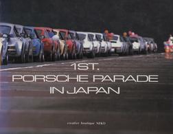 1st Porsche Parade In Japan   Books