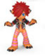 Sora (Monster's Inc.) (Orange) | Vinyl Art Toys