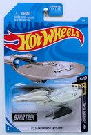 U.S.S. Enterprise NCC-1701 | Model Spacecraft | HW 2019 - Collector # 003/250 - HW Screen Time - U.S.S. Enterprise NCC-1701 - Off White - USA Card