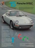 Porsche 911SC | Print Ads