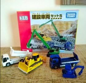Construction Vehicle Set 5 | Model Vehicle Sets