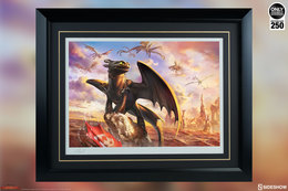 Toothless & The Dragons Of Berk | Posters & Prints