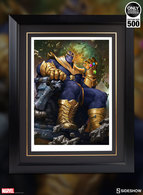Thanos On Throne | Posters & Prints
