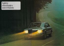 Safety Eliminates Uncertainity | Print Ads