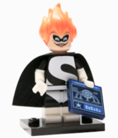 Syndrome Lego Minifigure | Action Figures