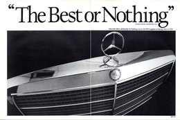 'The Best Or Nothing' | Print Ads