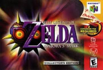 Legend Of Zelda: Majora's Mask | Video Games