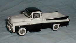 1957 Dodge Sweptside Pickup | Model Cars | from old archived site: http://www.oocities.org/finsnchrome