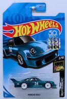 Porsche 934.5   Model Cars   HW 2018 - Super Treasure Hunt - Nightburnerz 2/10 - Porsche 934.5 - Spectraflame Blue - USA 50th Card with Factory Set Sticker