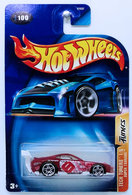 Super Tsunami | Model Cars | HW 2003 - Collector # 100/220 - Tech Tuners 1/5 - Super Tsunami - Red - Bright Red Tampo - USA '04 Card