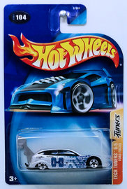 Ford Focus | Model Cars | HW 2003 - Collector # 104/220 - Tech Tuners 5/5 - Ford Focus - Silver - USA '04 Card
